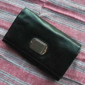 Liz Claiborne Black Leather Wallet